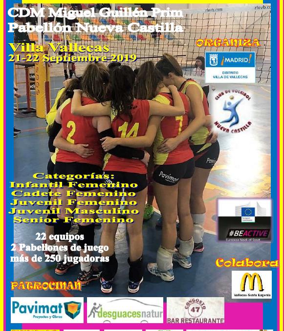 IV Torneo de Voleibol Villa de Vallecas
