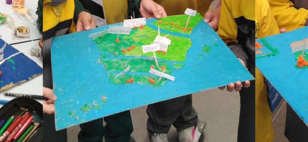 Modelamos el mapa del relieve de España
