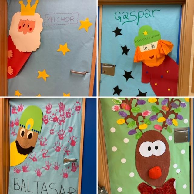 Los «peques» abren la puerta a la Navidad