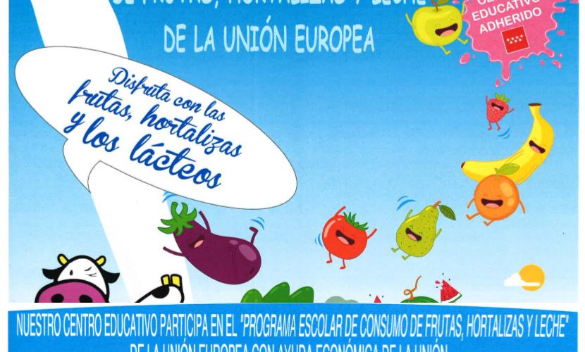 Programa escolar de frutas, hortalizas y leche de la Unión Europea