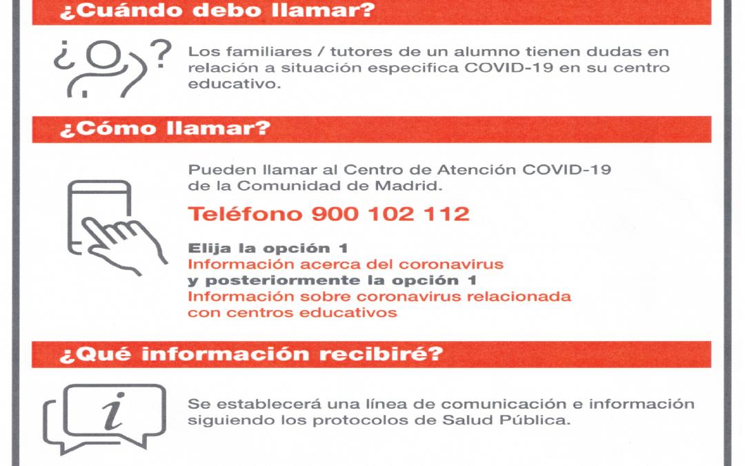 Centro de Atención COVID-19